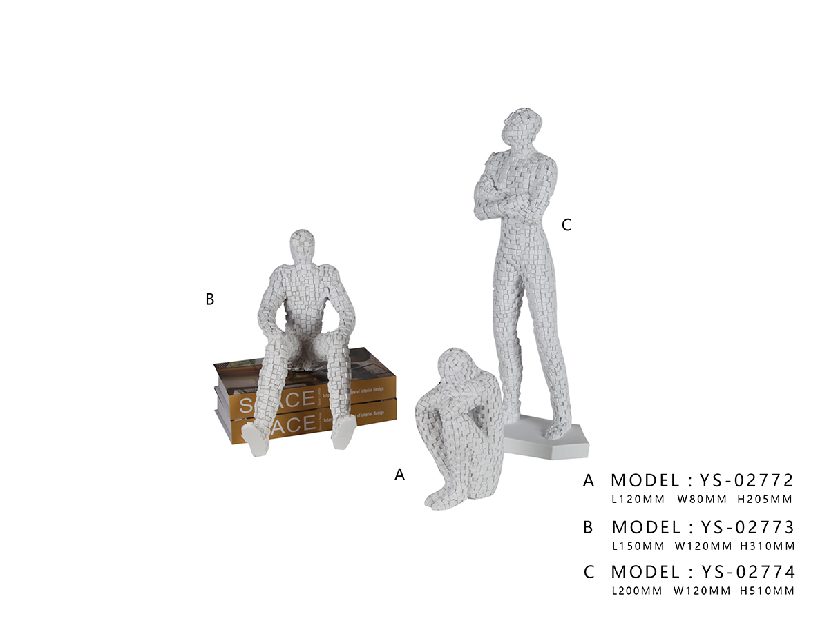 Ornament Decor (Sit-Up) - Model A