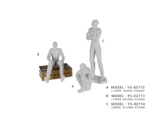 Philo Ornaments (Sit-Up) - Model A