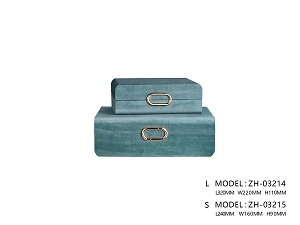 Green Chiang Mai Storage Box (Small)