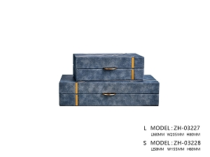 Blue Cannes Storage Box (Large)