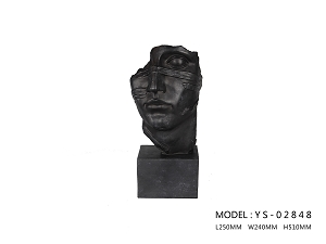 Cardiff Sculpture - (Black)