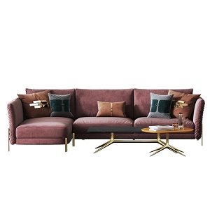 Sectional 3-Seat Sofa