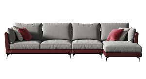 Sectional 4-Seat Sofa