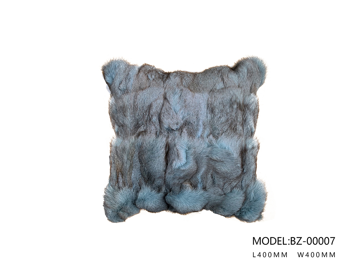 Pillow (Snow Wolf Blue)