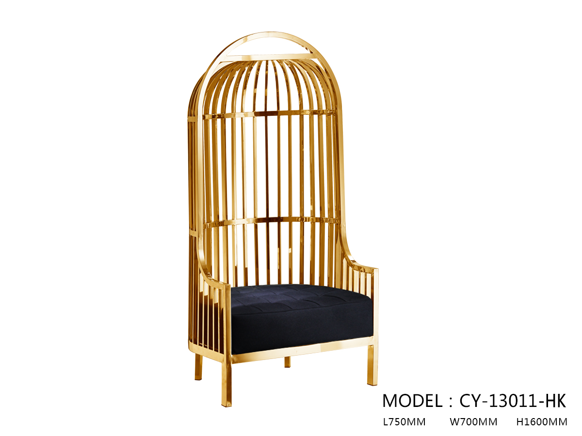 Cage-Style Rest Chair