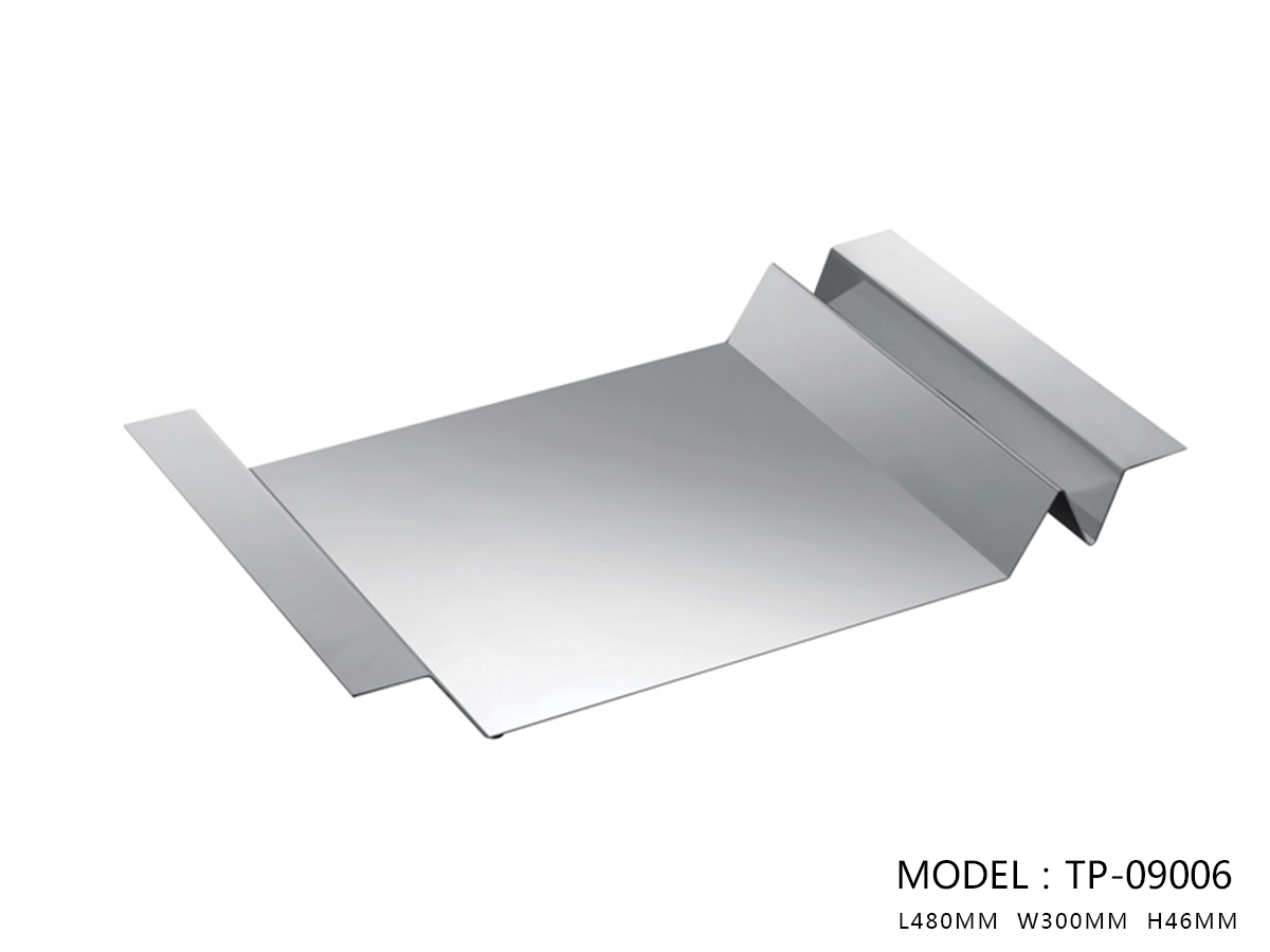 Polished Stainless Steel Tray