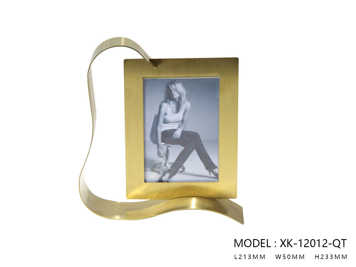 Brushed Gold Photo  Frame