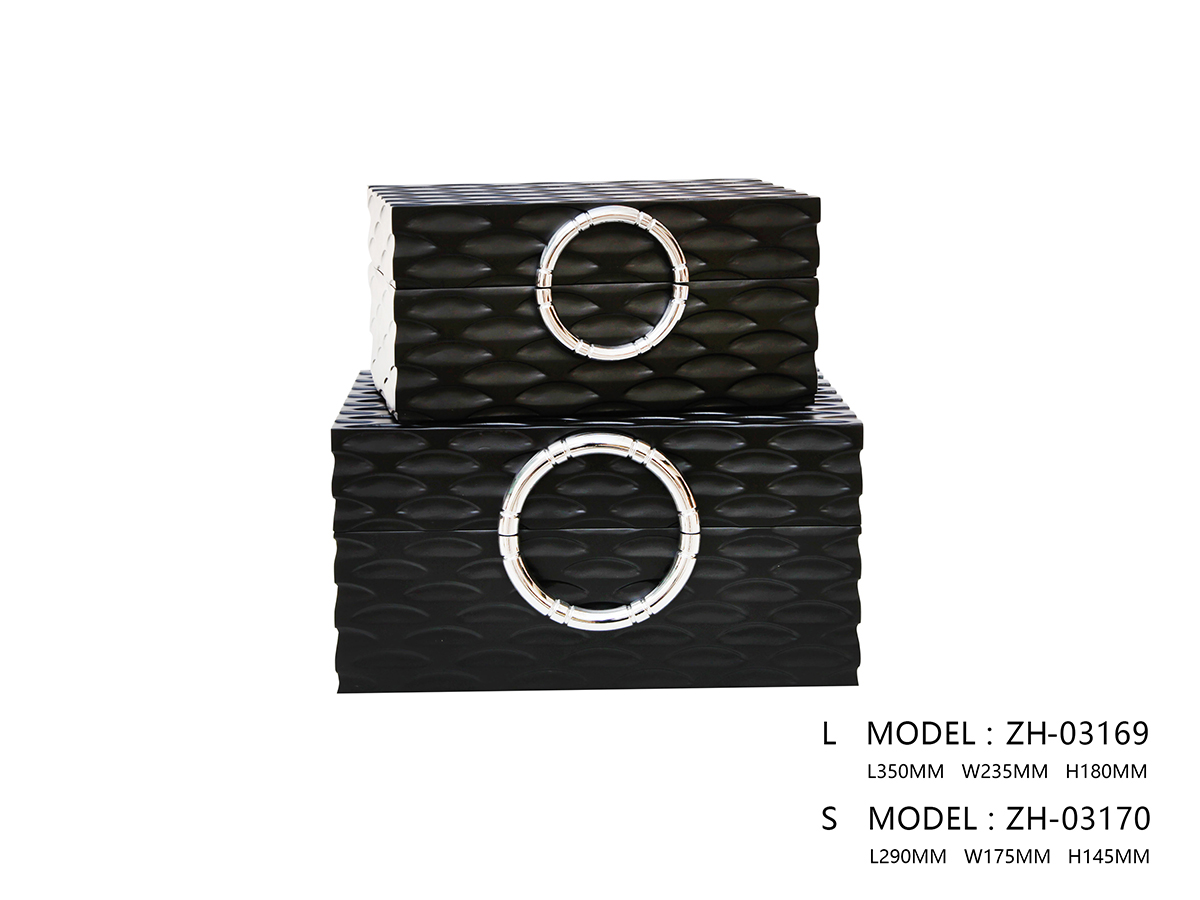 Black Storage Box - One Small Size Only