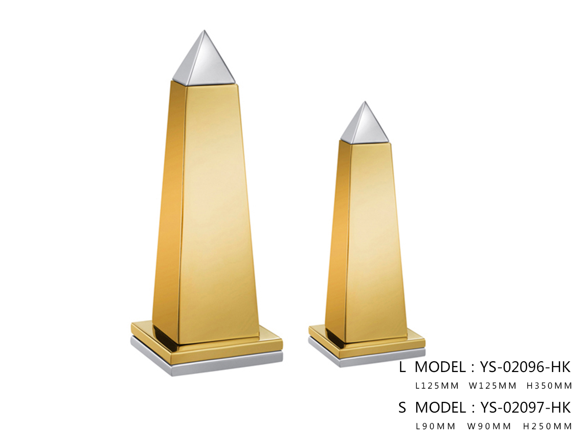 Gold and Solver Pyramid - One Small Size Only